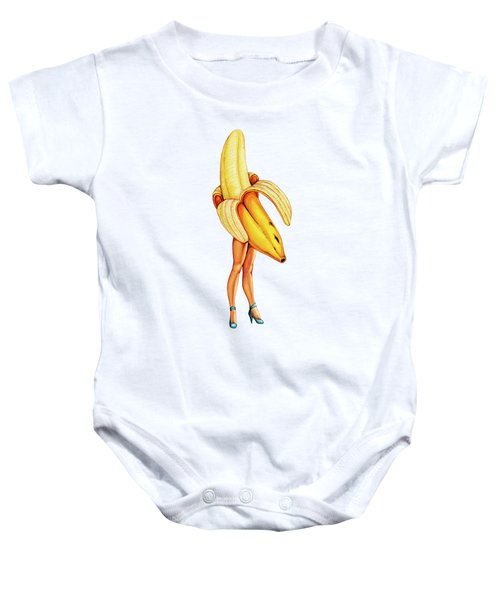 Fruit Stand - Banana Baby Onesie by Kelly Gilleran