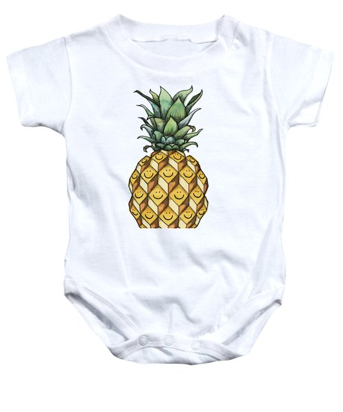 Fruitful Baby Onesie by Kelly Jade King