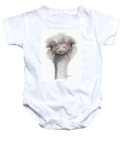 Funny Face Baby Onesie