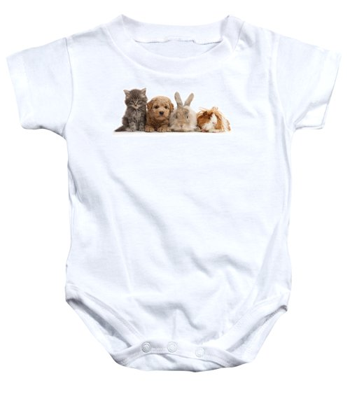 Gang Of Four Baby Onesie
