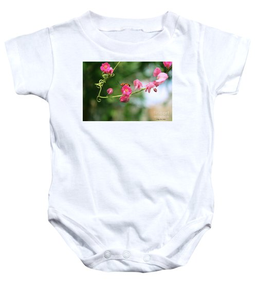 Garden Bug Baby Onesie