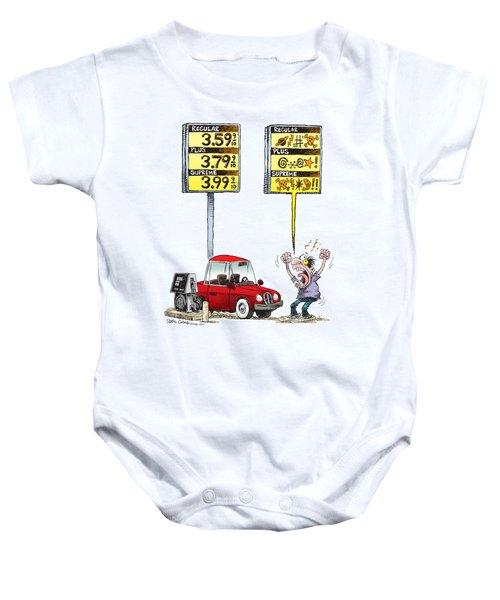 Gas Price Curse Baby Onesie