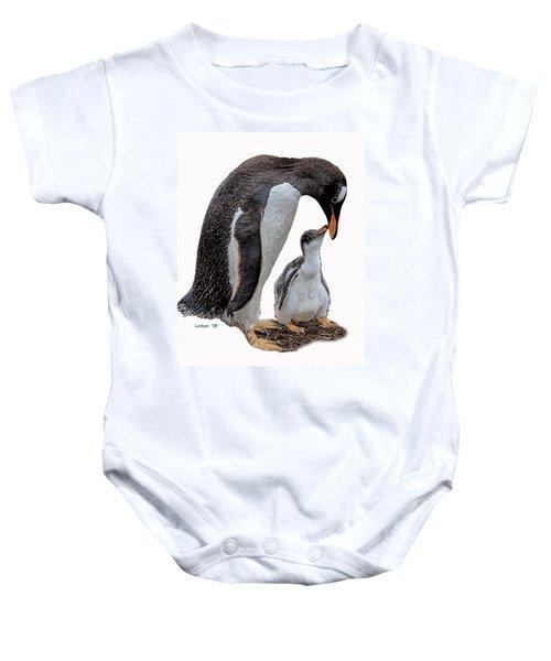 Gentoo Penguins Baby Onesie