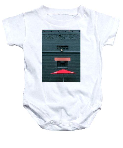 Geometric Illusion Baby Onesie