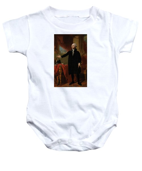 George Washington Lansdowne Portrait Baby Onesie
