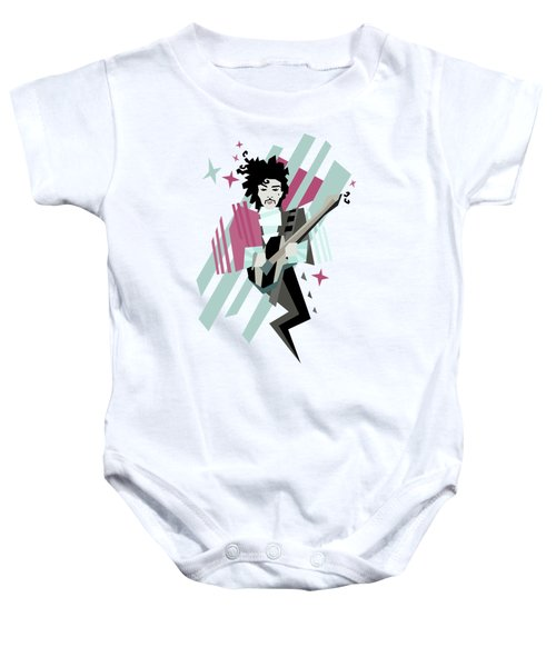 Ghost Of The Prince Baby Onesie by Julia Jasiczak