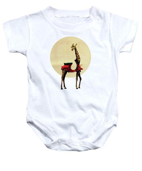 Giraffe Baby Onesie by Ali Gulec