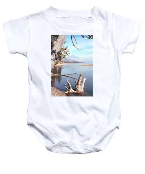 Glacier National Park 3 Baby Onesie