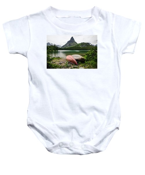 Glacier National Park Baby Onesie