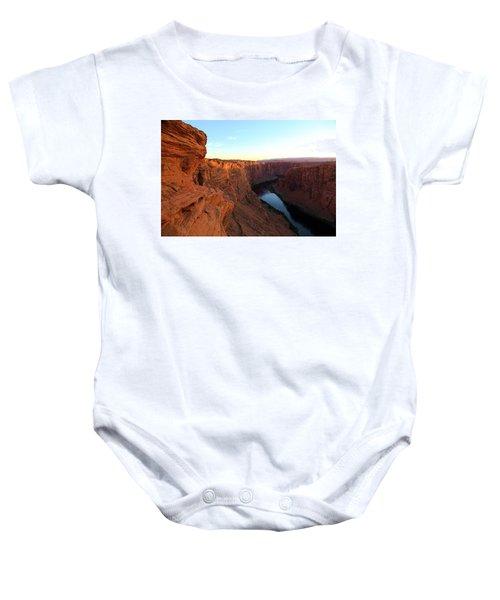 Glenn Canyon Baby Onesie