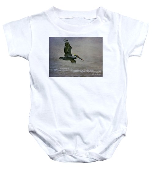 Gliding  Baby Onesie