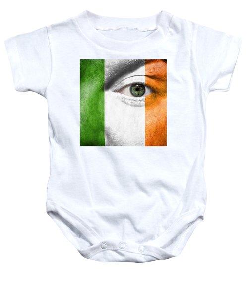 Go Ireland Baby Onesie