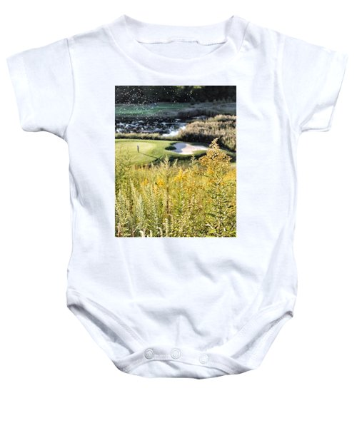 Golf - Green Peace Baby Onesie