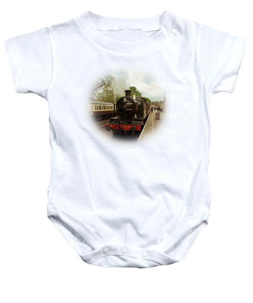 Goliath The Engine And Anna On Transparent Background Baby Onesie by Terri Waters