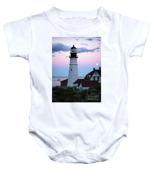 Goodnight Moon, Goodnight Lighthouse  -98588 Baby Onesie