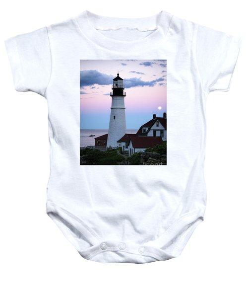 Goodnight Moon, Goodnight Lighthouse  -98588 Baby Onesie