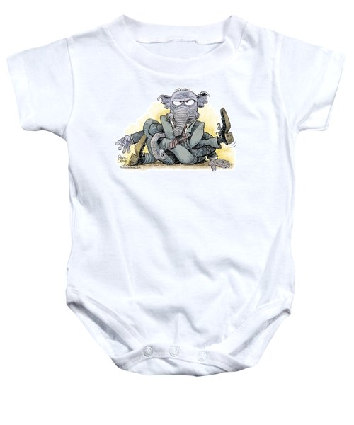 Gop Tied Up In A Knot Baby Onesie