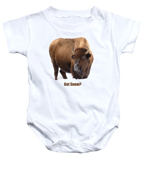 Got Snow? Baby Onesie