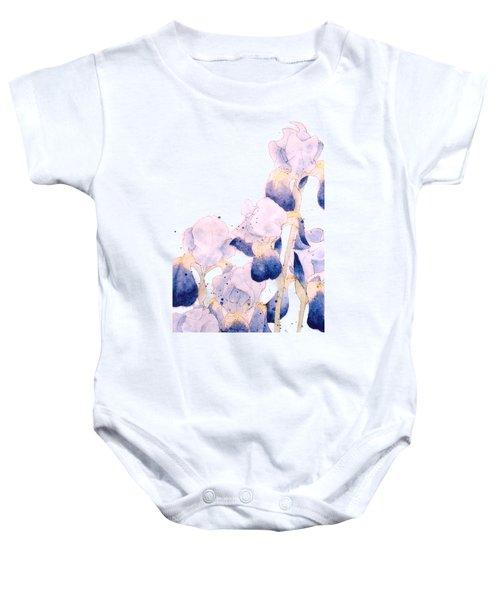 Graceful Iris Baby Onesie