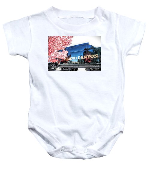 Grand Canyon Railroad Baby Onesie