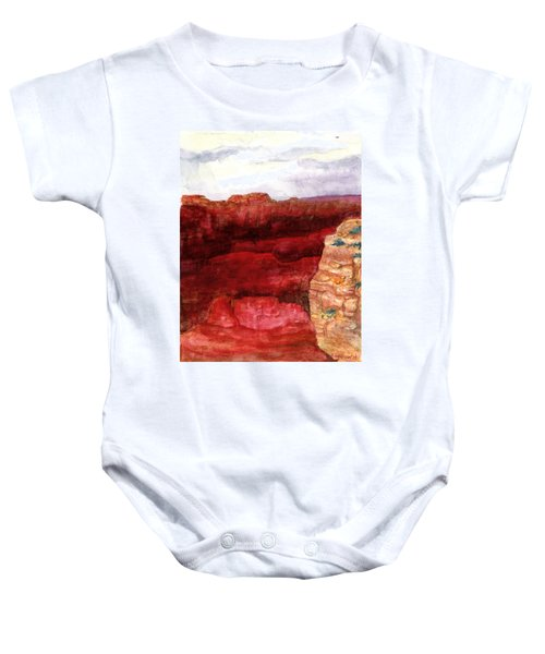 Grand Canyon S Rim Baby Onesie