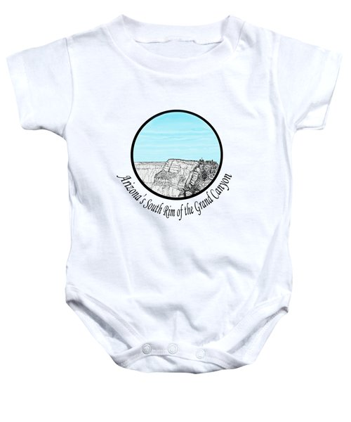 Grand Canyon - South Rim Baby Onesie by James Lewis Hamilton