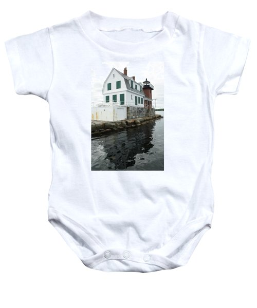 Grandfathers Lighthouse Baby Onesie