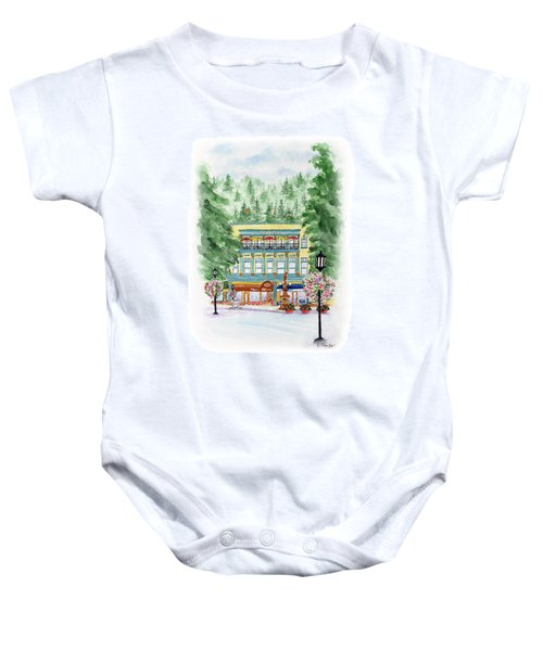 Granite On The Plaza Baby Onesie