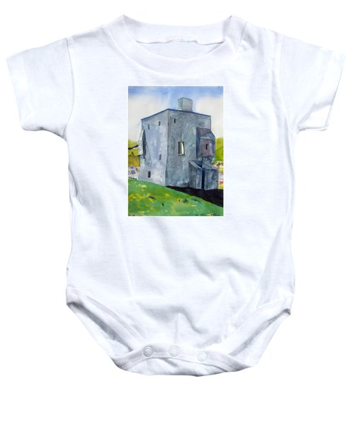 Granuaile's Castle Behind The Hill Baby Onesie