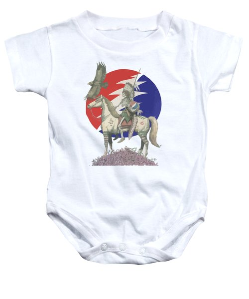 Grateful Dead Hero Baby Onesie