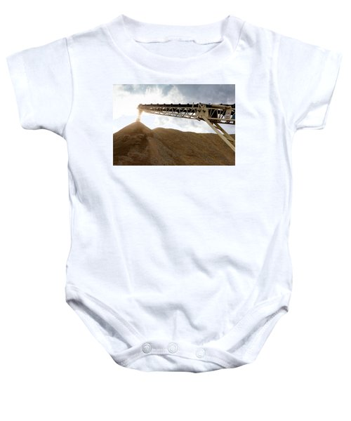 Gravel Mountain 2 Baby Onesie