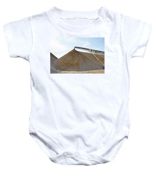 Gravel Mountain Baby Onesie