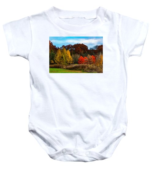 Great Brook Farm Autumn Baby Onesie