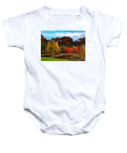 Great Brook Farm Autumn Baby Onesie