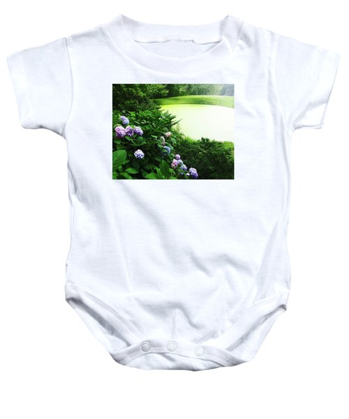 Green Pond Baby Onesie