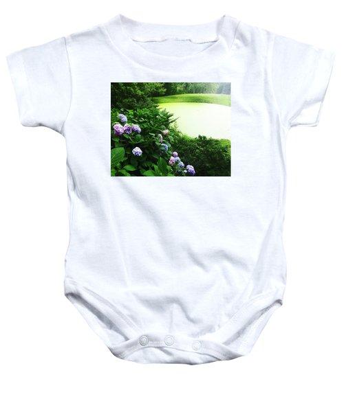 Green Pond Baby Onesie