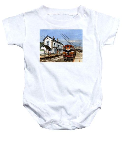 Greystones Railway Station Wicklow Baby Onesie