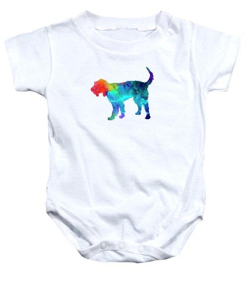 Griffon Nivernais In Watercolor Baby Onesie