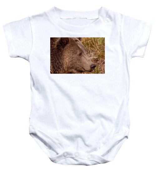 Grizzly Profile Baby Onesie