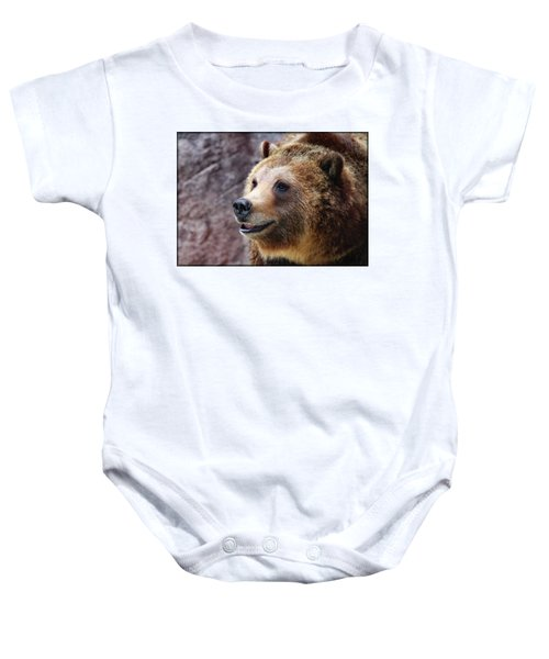 Grizzly Smile Baby Onesie
