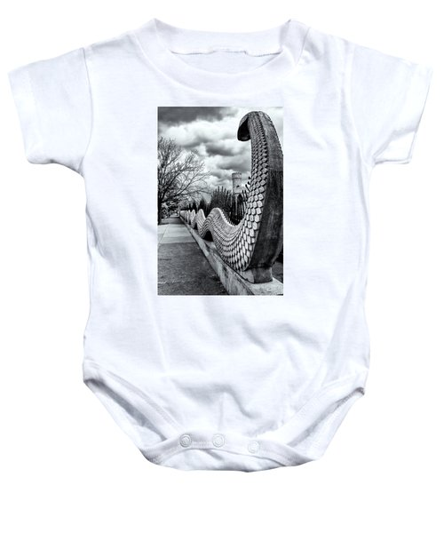 Guading The Castle Baby Onesie