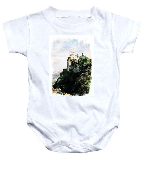 Guaita Castle Fortress Baby Onesie