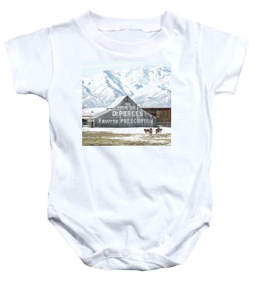 Guardians Of The Tonic Baby Onesie