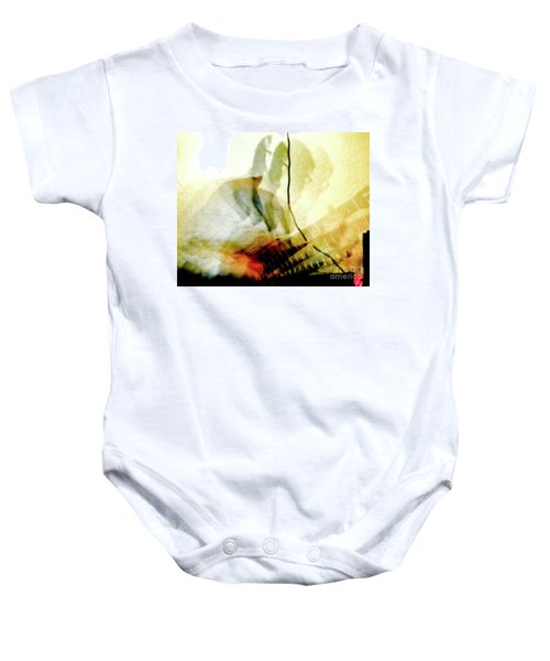Guitar Player Baby Onesie
