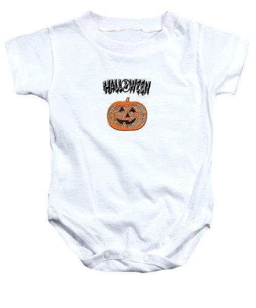 Halloween Pumpkin Baby Onesie