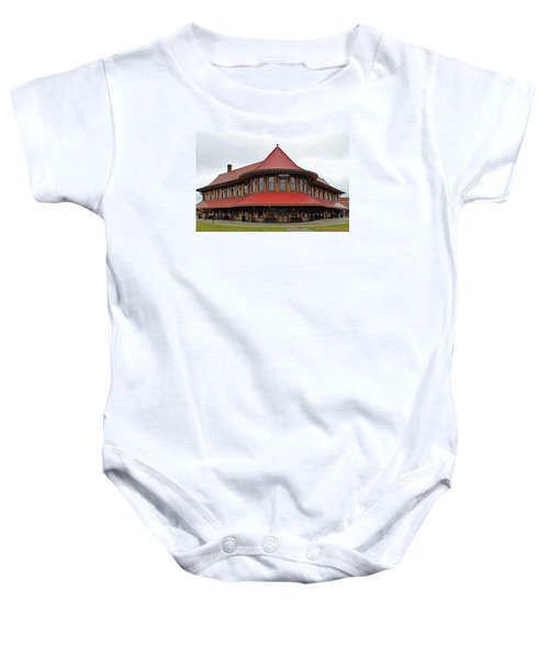 Hamlet Train Station Baby Onesie