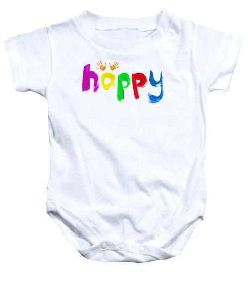 Happy Baby Onesie
