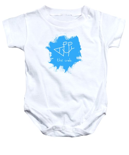 Happy The Crab - Blue Baby Onesie