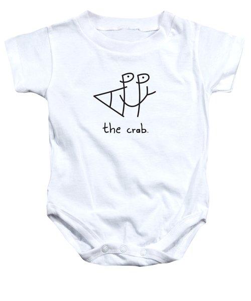 Happythecrab.com Baby Onesie