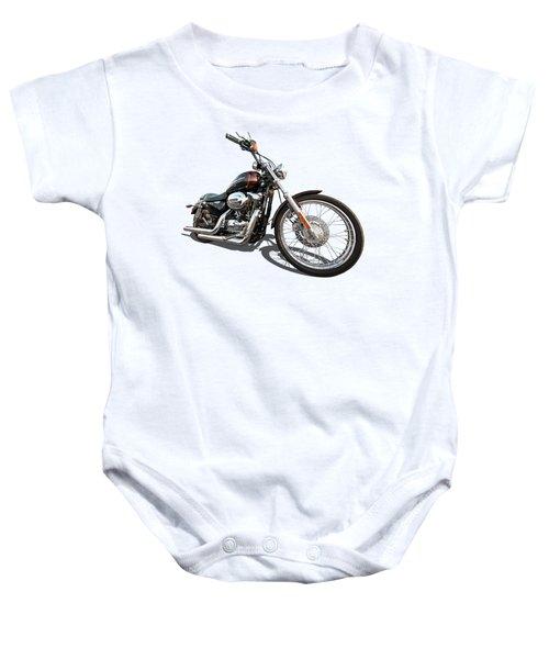 Harley Sportster Xl1200 Custom Baby Onesie